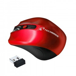MOUSE TM-XJ30-RED ROSSO WIRELESS